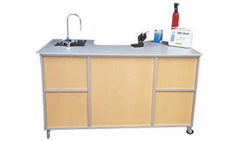 Science Lab with Portable sink