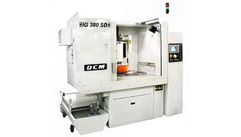 DCM STYLE GRINDERS - ROTARY SURFACE GRINDERS FOR RAPID STOCK REMOVAL AND REDUCED LAPPING TIME.