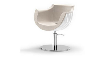 Styling Salon Chairs: Pearl Chair White