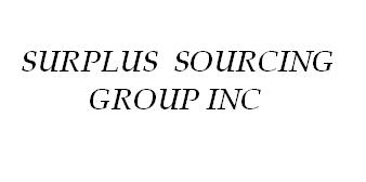 Surplus Sourcing Group Inc