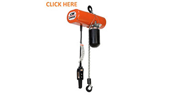 CM Lodestar Electric Hoists Here!