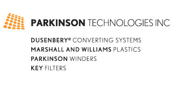 Parkinson Technologies Inc. -  makers of Dusenbery® Converting Systems, Marshall and Williams Plastics, Parkinson Winders, and Key Filters