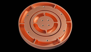COPPER BACKING PLATE