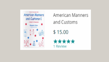 American Manners and Customes