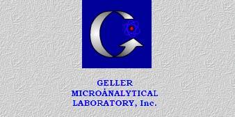 Geller MicroAnalytical Laboratory Inc.