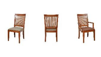 Charleston Library Chair - Cherry Wood