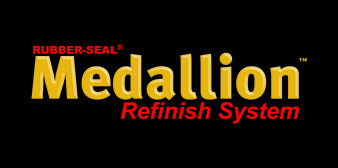 Rubber-Seal Medallion Refinish System
