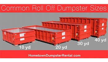 The Ultimate Guide to Dumpster Sizes
